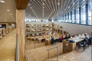 bibliotheek sfeerfoto