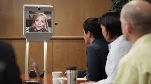 Telepresence met robot