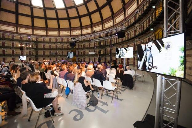 Nacht van de architectuur audiovisueel inrichting