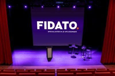 Elinor Ostromgebouw theaterzaal