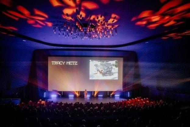 nvda podia evenement met audiovisuele toepassingen