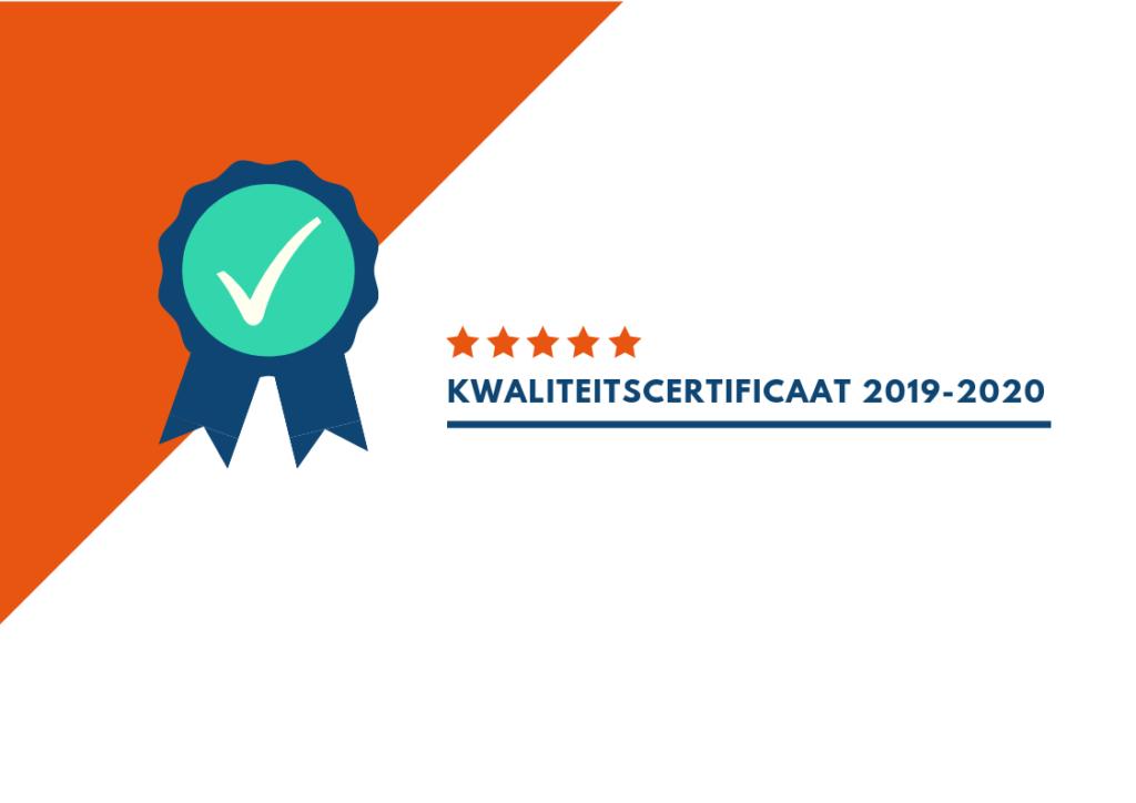 Fidato garandeert kwaliteit met behaalde VSI certificaat