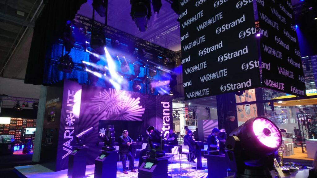 Audiovisuele inrichting tijdens de Prolight + Sound in Duitsland