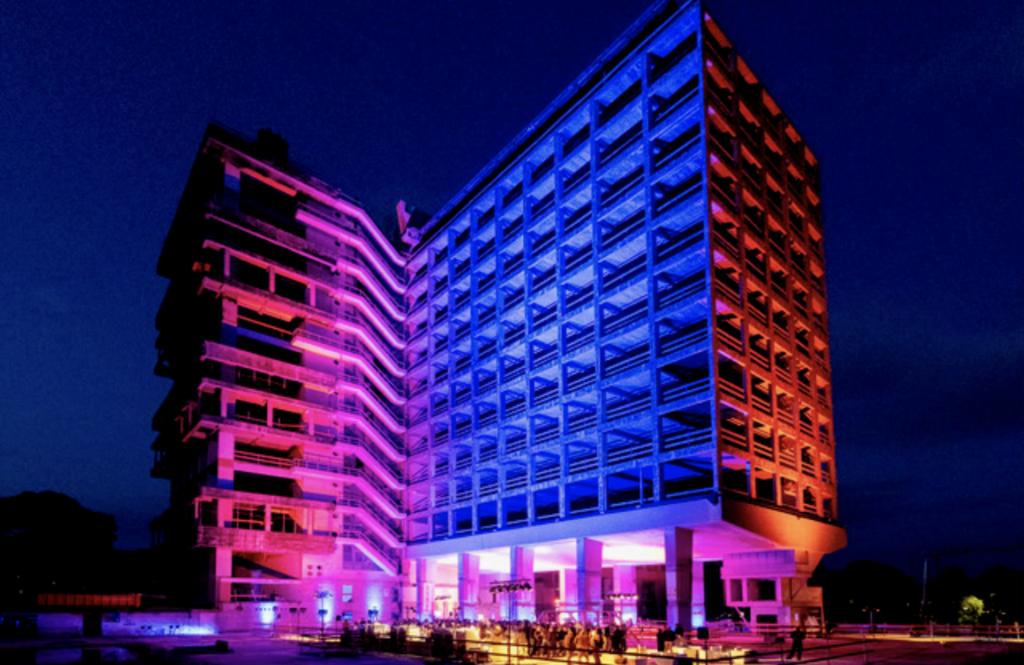 Audiovisueel spektakel tijdens deNacht van de Architectuur
