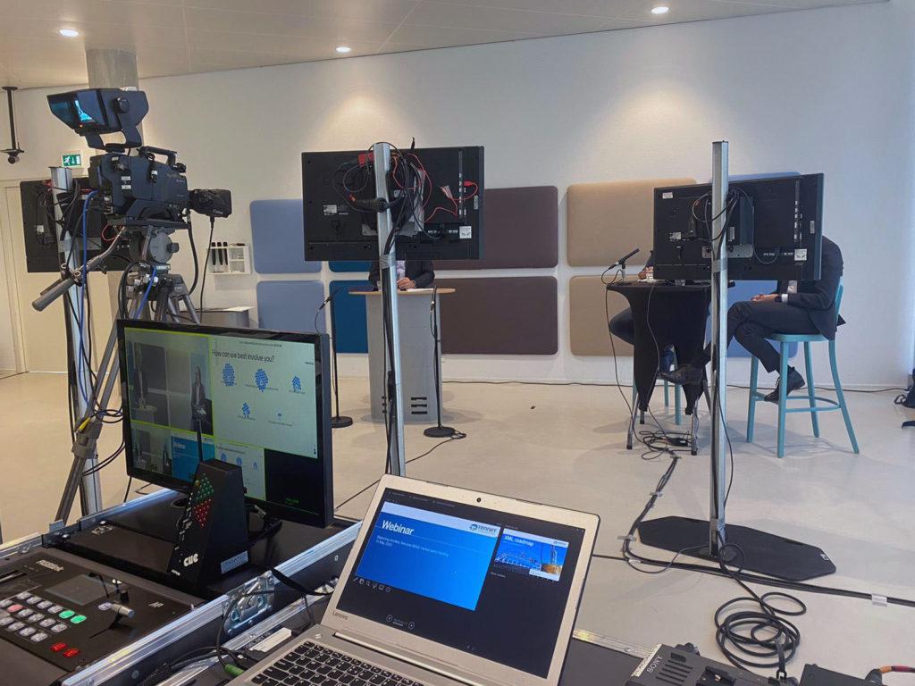 Succesvol online event met pop up studio